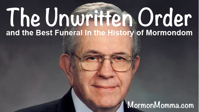 Boyd K. Packer - The Unwritten Order of Things