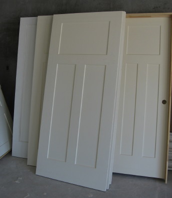 We Really Wanted Some Clean Flat Panel Interior Doors Instead To Compliment  The Simple Lines Of A Modern Craftsman Style Home.