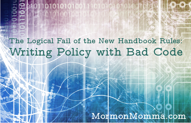 The Logical Fail of the New Handbook Rules: Writing Policy with Bad Code