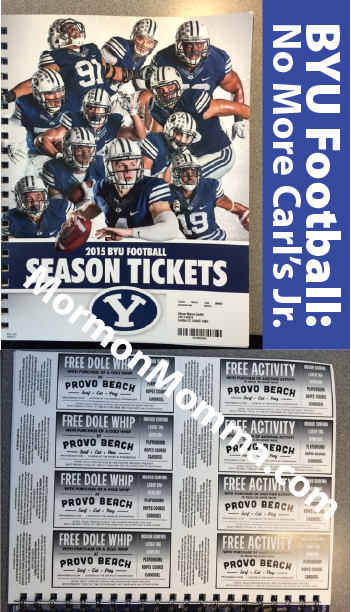 BYU Football: No More Carl's Jr.