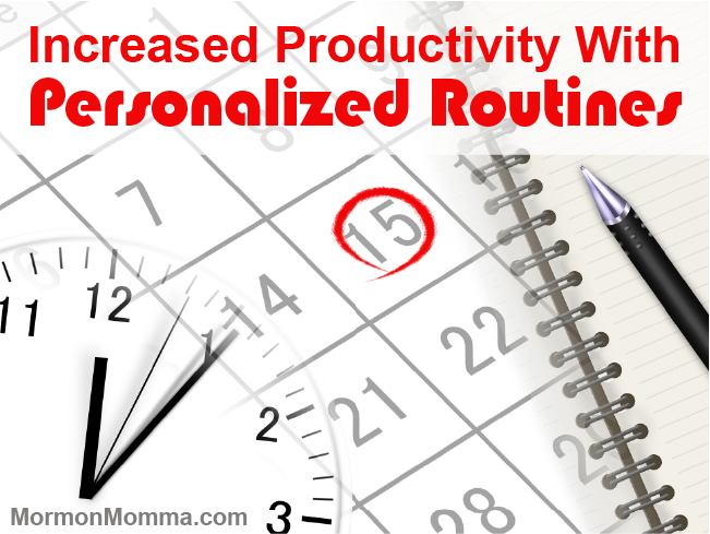 Increased Productivity With Personalized Routines