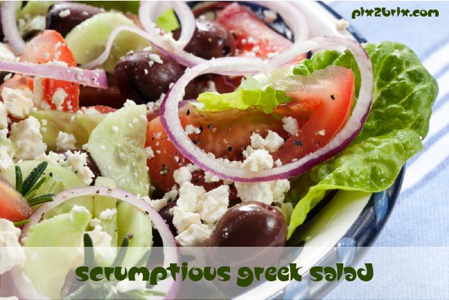 Scrumptious Greek Salad