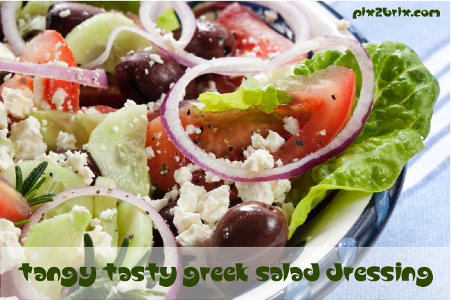 Tangy Tasty Greek Salad Dressing