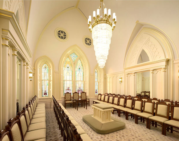Provo City Center Temple Sealing Room