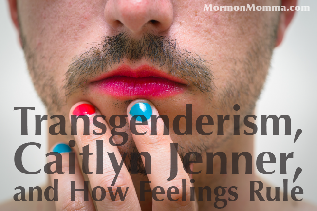 Transgender Jenner Feelings