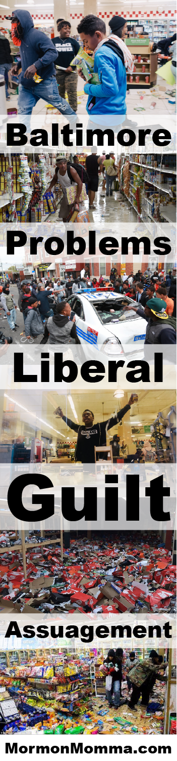 Baltimore Problems and Liberal Guilt Assuagement