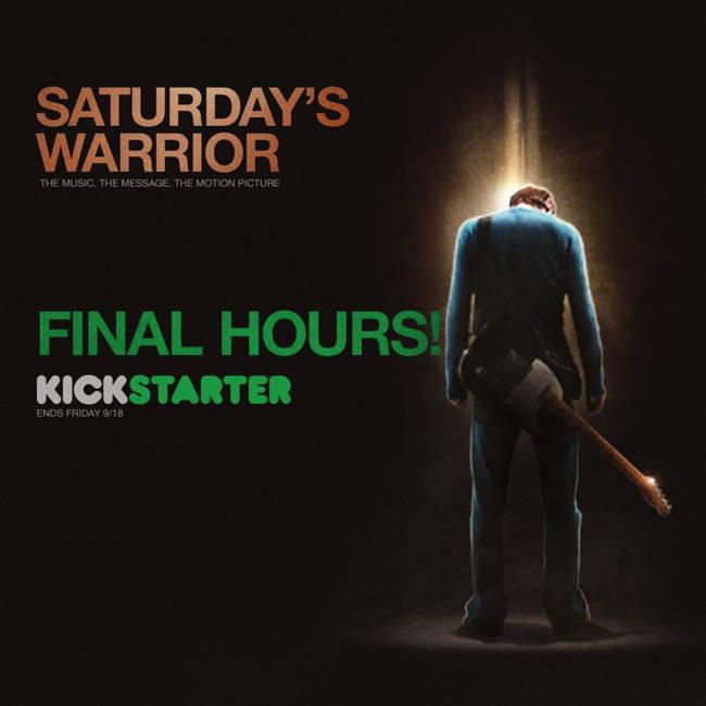 Saturday's Warrior Kickstarter