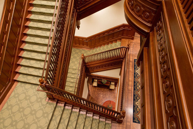 Provo City Center Temple Staircase
